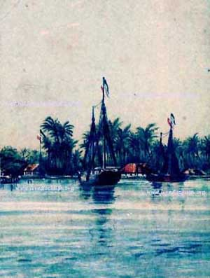 Marshall Islands Vintage Boats